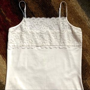 4/$25 Cami M Nylon Spandex Lace Lined Adjustable